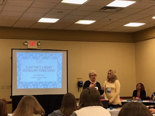 DeShay Dishman and Beth Corder present at the conference